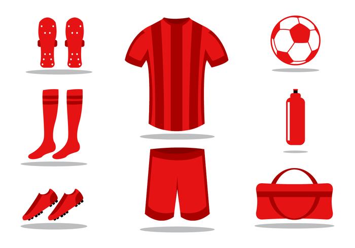 Calcio Kit vettoriale gratuito