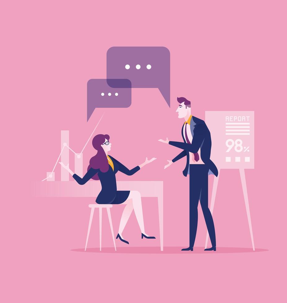 concetto di business di comunicazione e connessione vettore