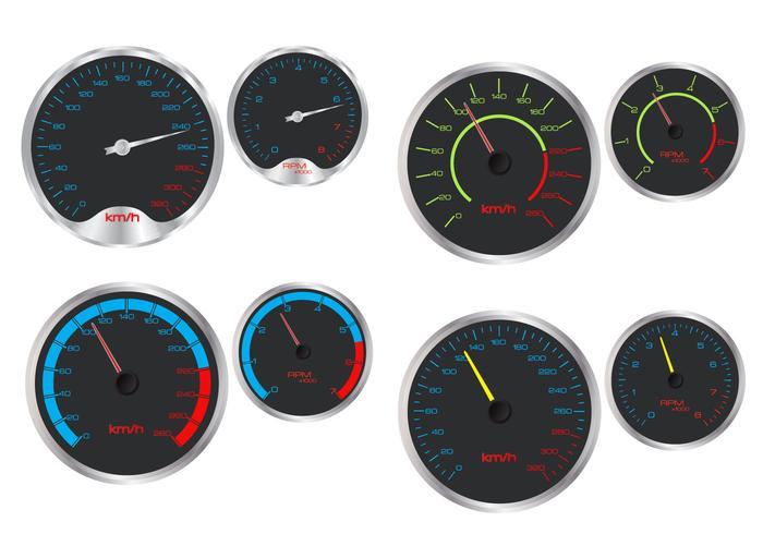 Tachimetro e vettori Rpm