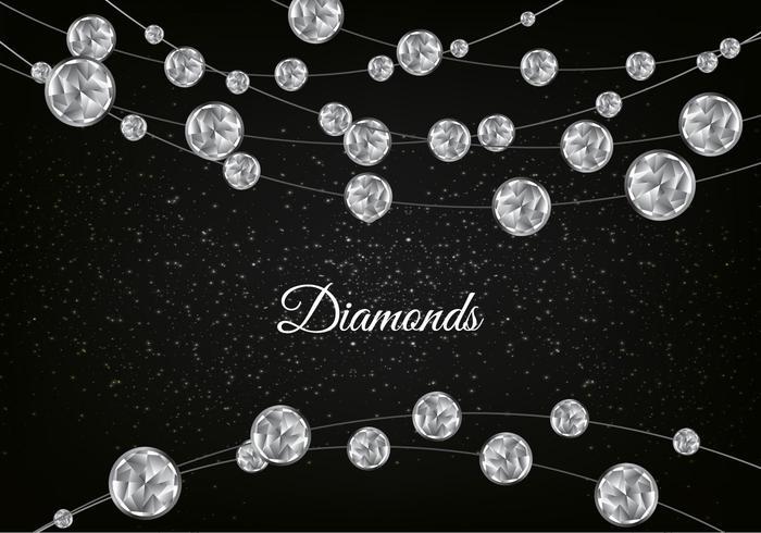 vettore diamante scintillante sfondo