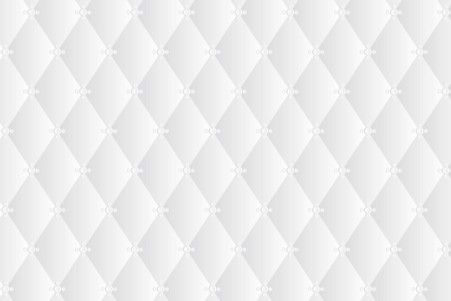 astratto trapuntato bianco sfondo 3d vettore