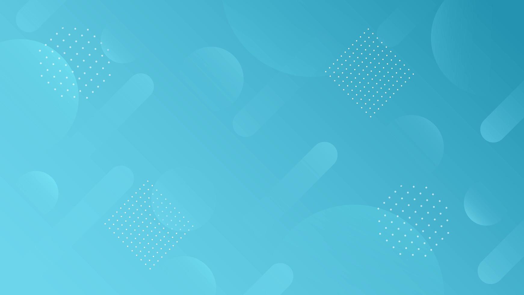 astratto geometrico moderno dinamico blu vettore