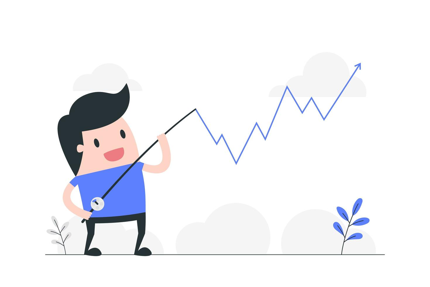 illustrazione di concetto di gestione delle crisi vettore