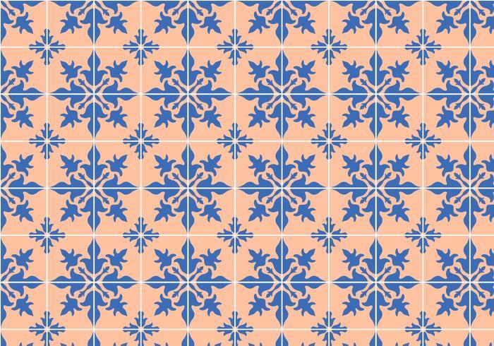 modello di mosaico di piastrelle vettore