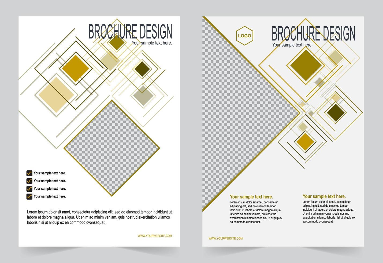 set di modelli di copertina relazione annuale retrò forme geometriche vettore