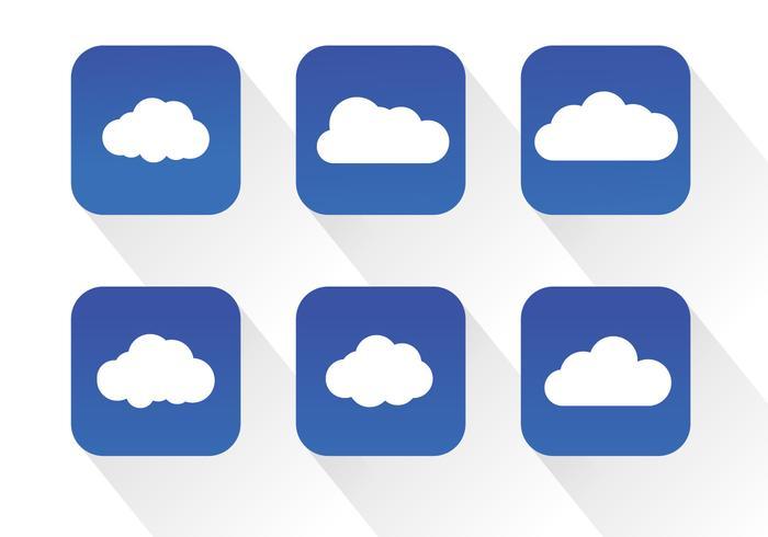 Vettori icona nuvola