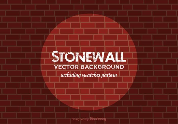Sfondo vettoriale di Stonewall gratis