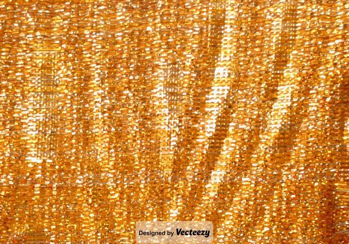 trama scintillante d'oro vettoriale