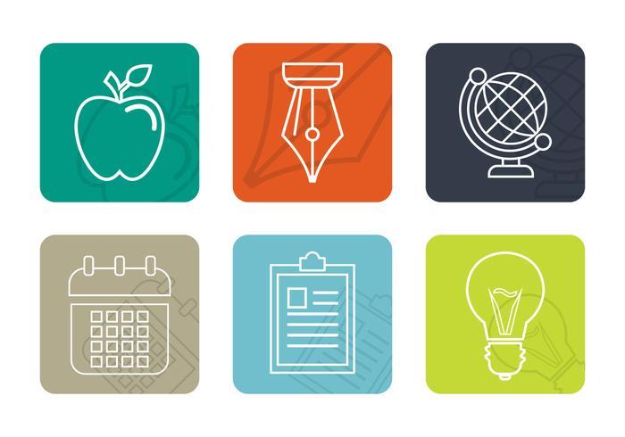 Icone vettoriali gratis per ufficio