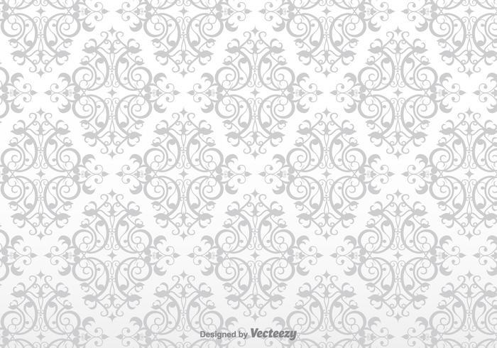 Wallpaper barocco vettoriale