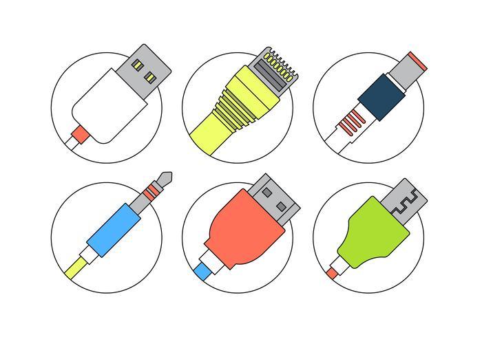 Cavi di connessione vettore