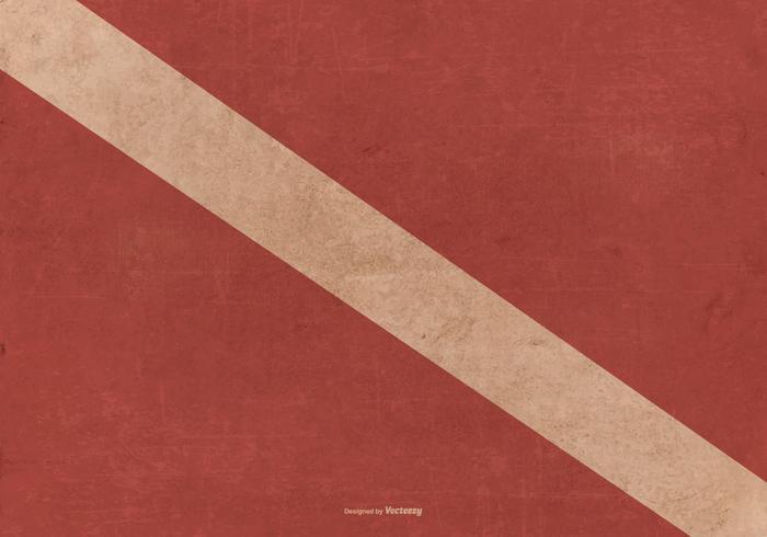 Bandiera di immersione grunge vettore