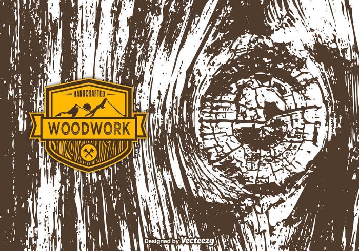 Vector Texture di legno