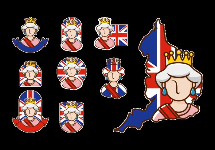 vettore di regina elisabetta