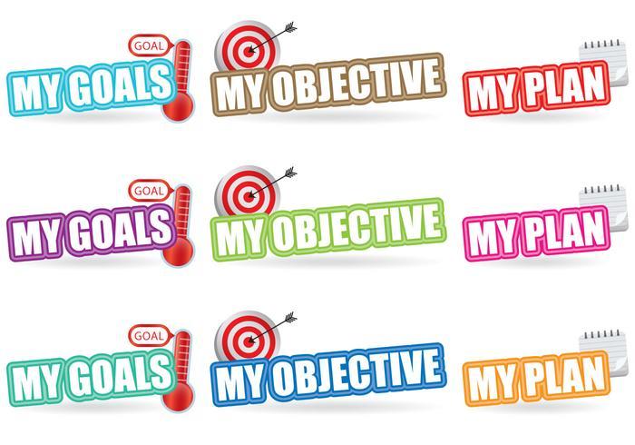 Titoli degli obiettivi vettore