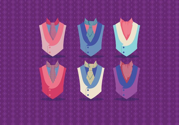 Cravatta vettoriale