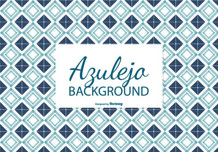 Fondo delle mattonelle di Azulejo del blu marino vettore