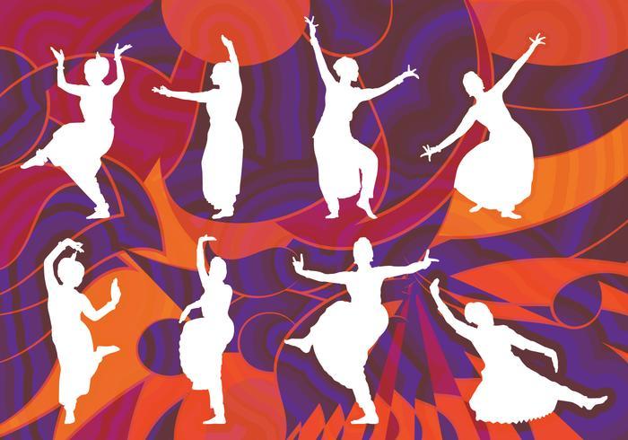 Ballerino di Bollywood vettore