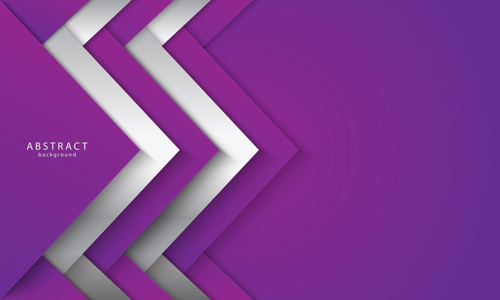 forme sovrapposte ad angolo viola e bianco vettore