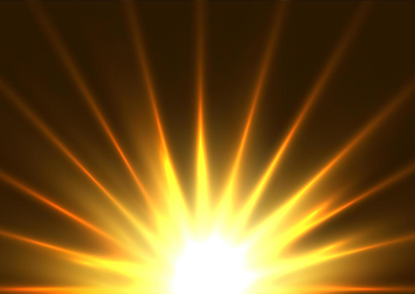 design luminoso starburst vettore