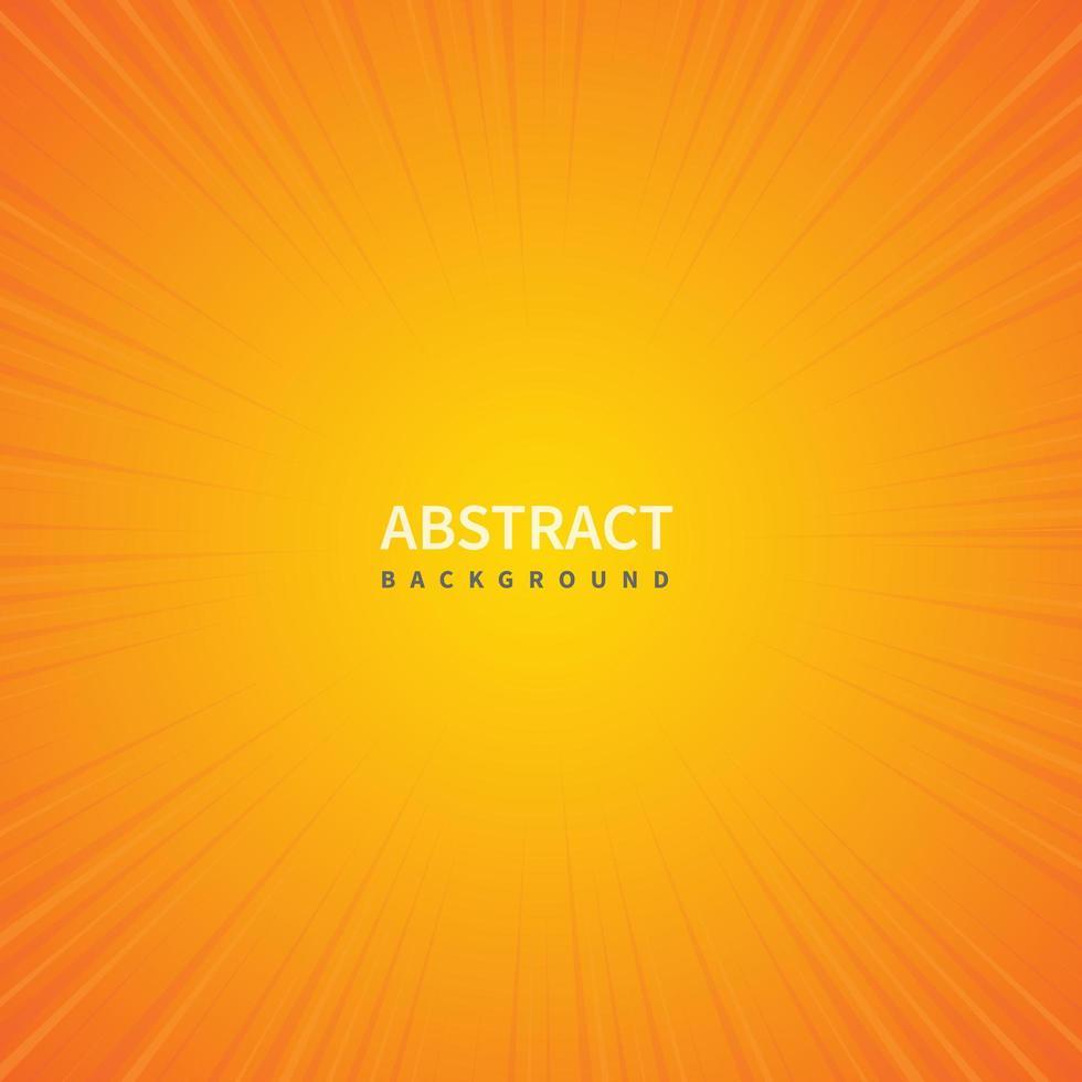 sunburst gradiente giallo arancione vettore