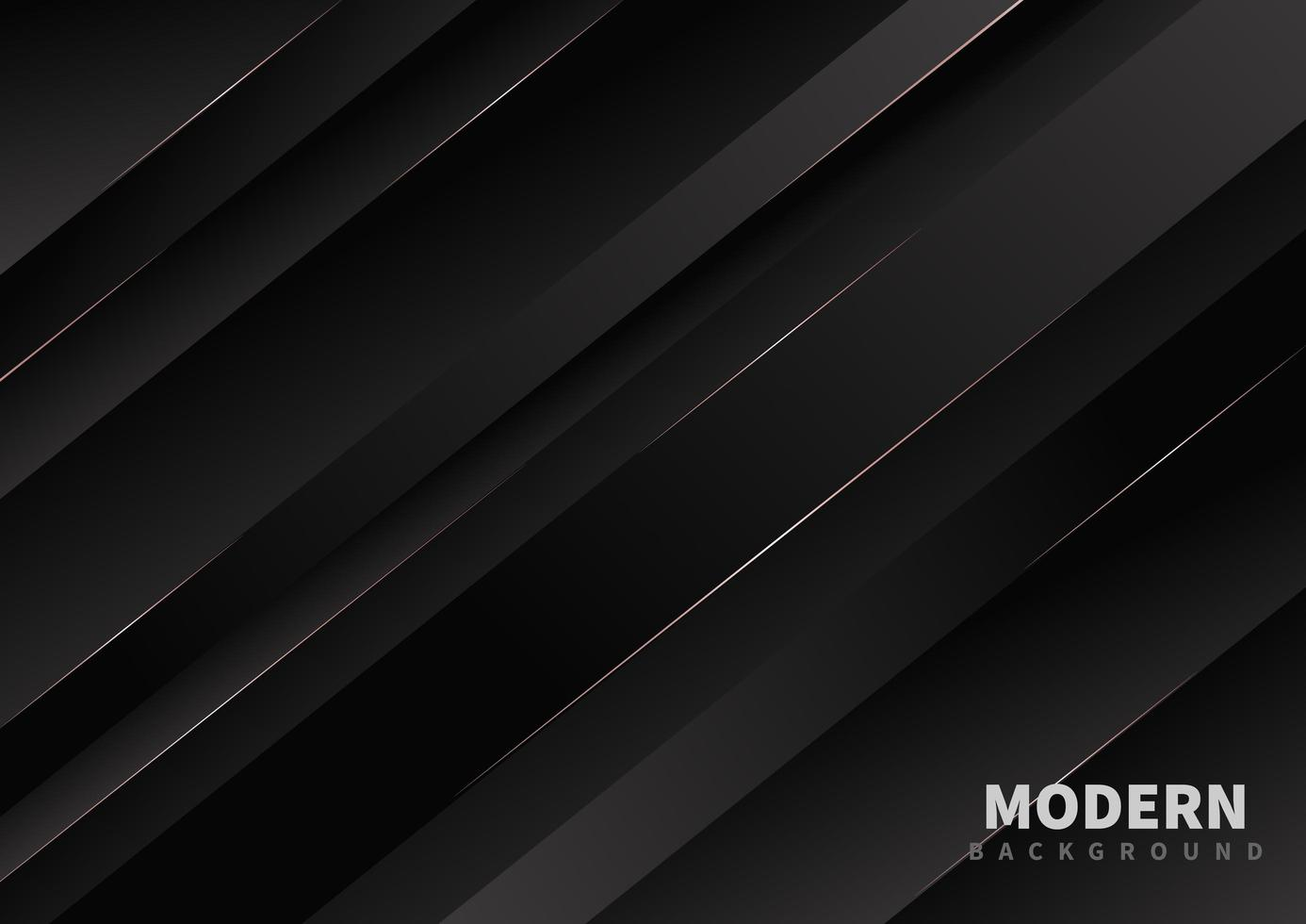 disegno astratto linea diagonale 3d nero vettore