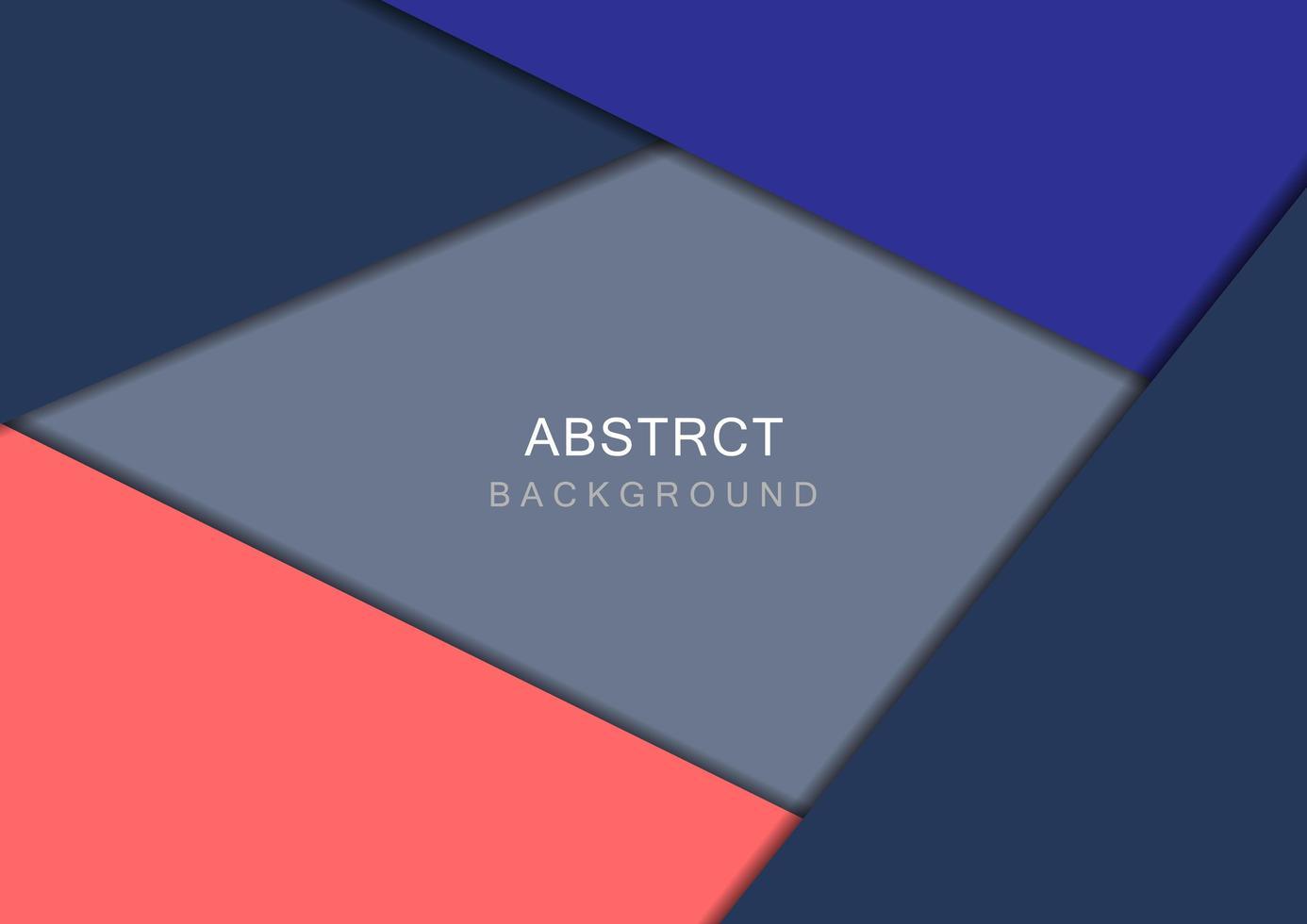 elementi sovrapposti geometrici colorati vettore