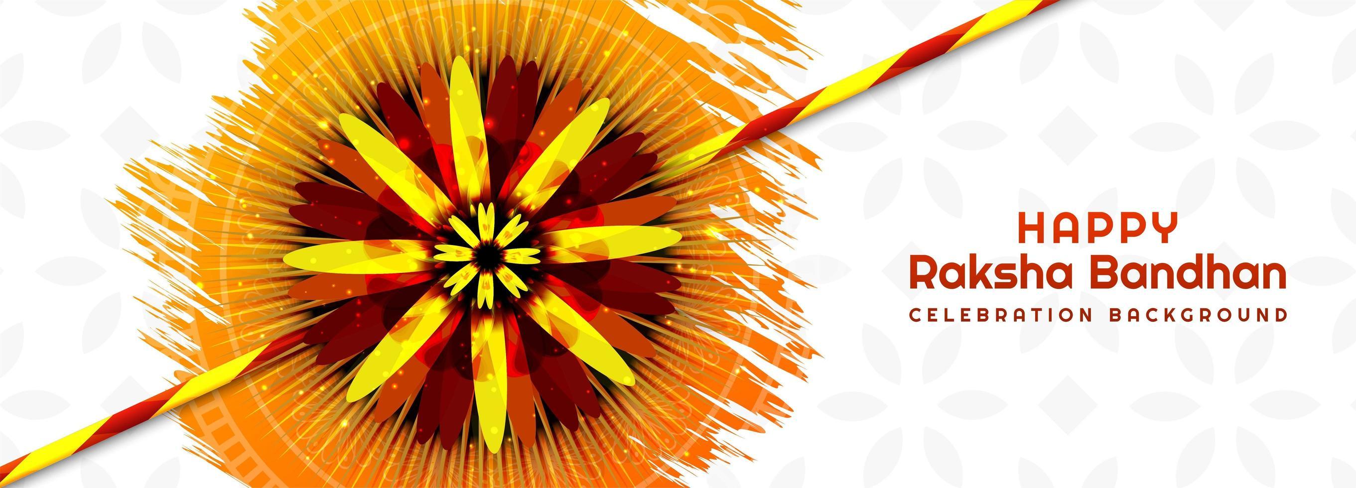 festival indù raksha bandhan banner vettore
