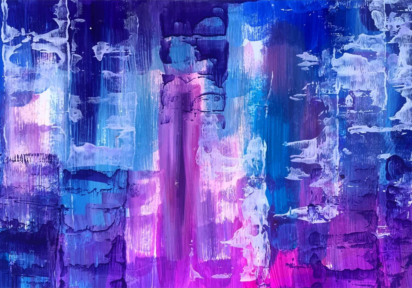 dipinto a mano astratto sfondo colorato trama vettore