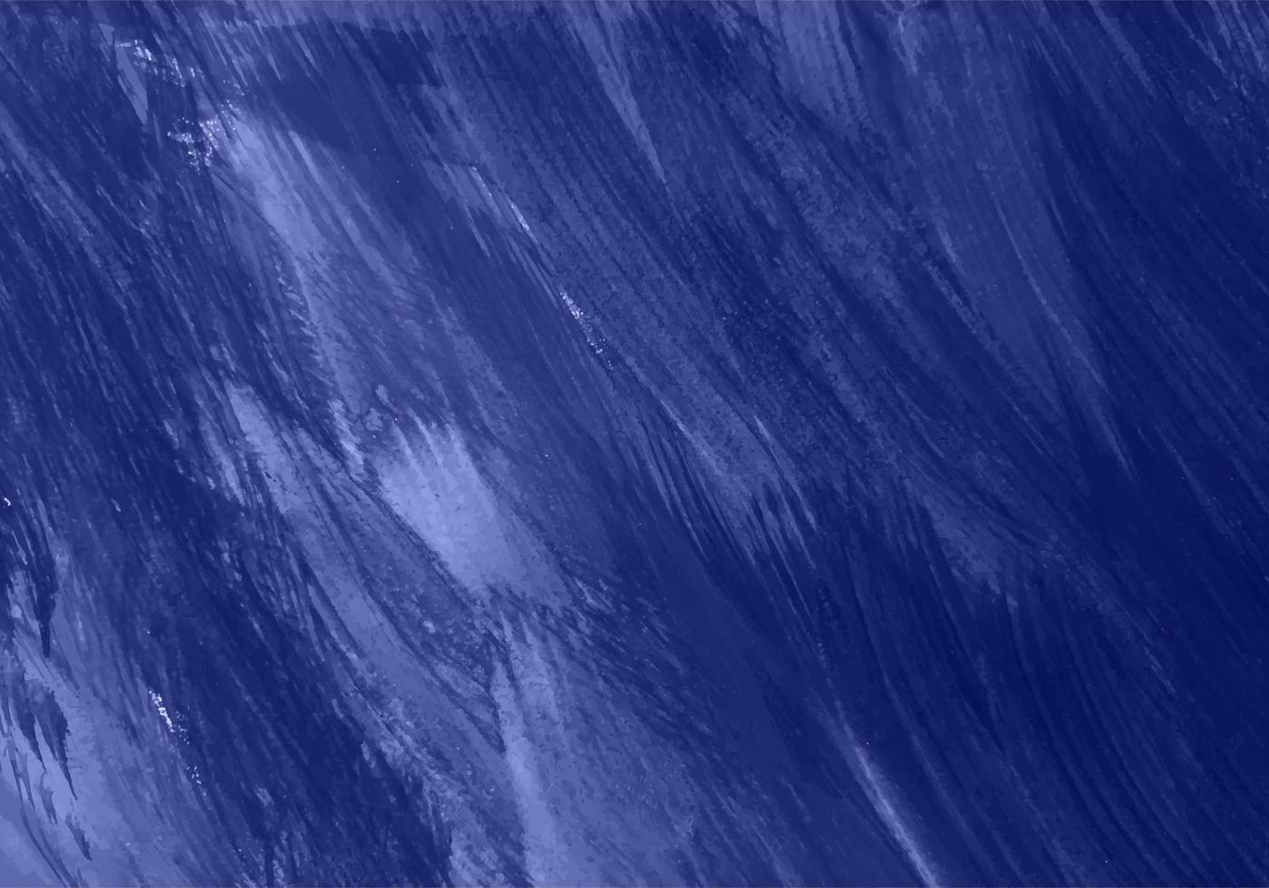 struttura blu scuro dipinta a mano astratta vettore