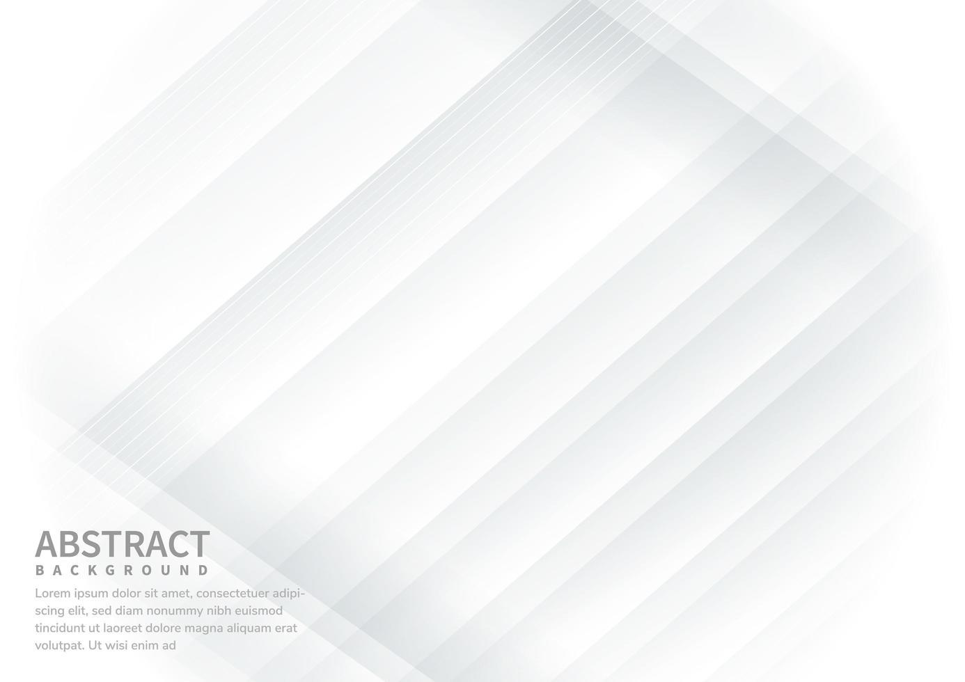 linee diagonali astratte sfondo bianco vettore