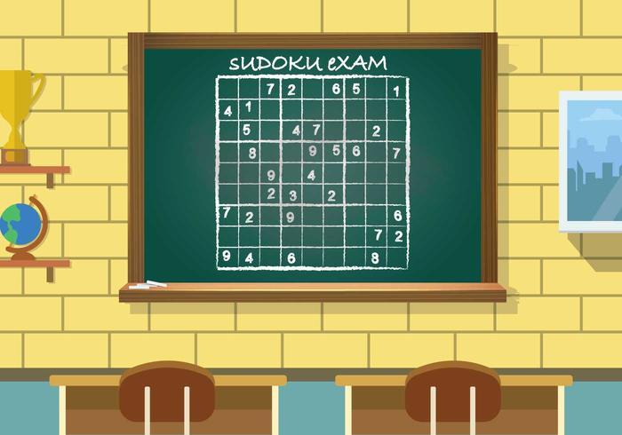 Illustrazione di Sudoku vettore