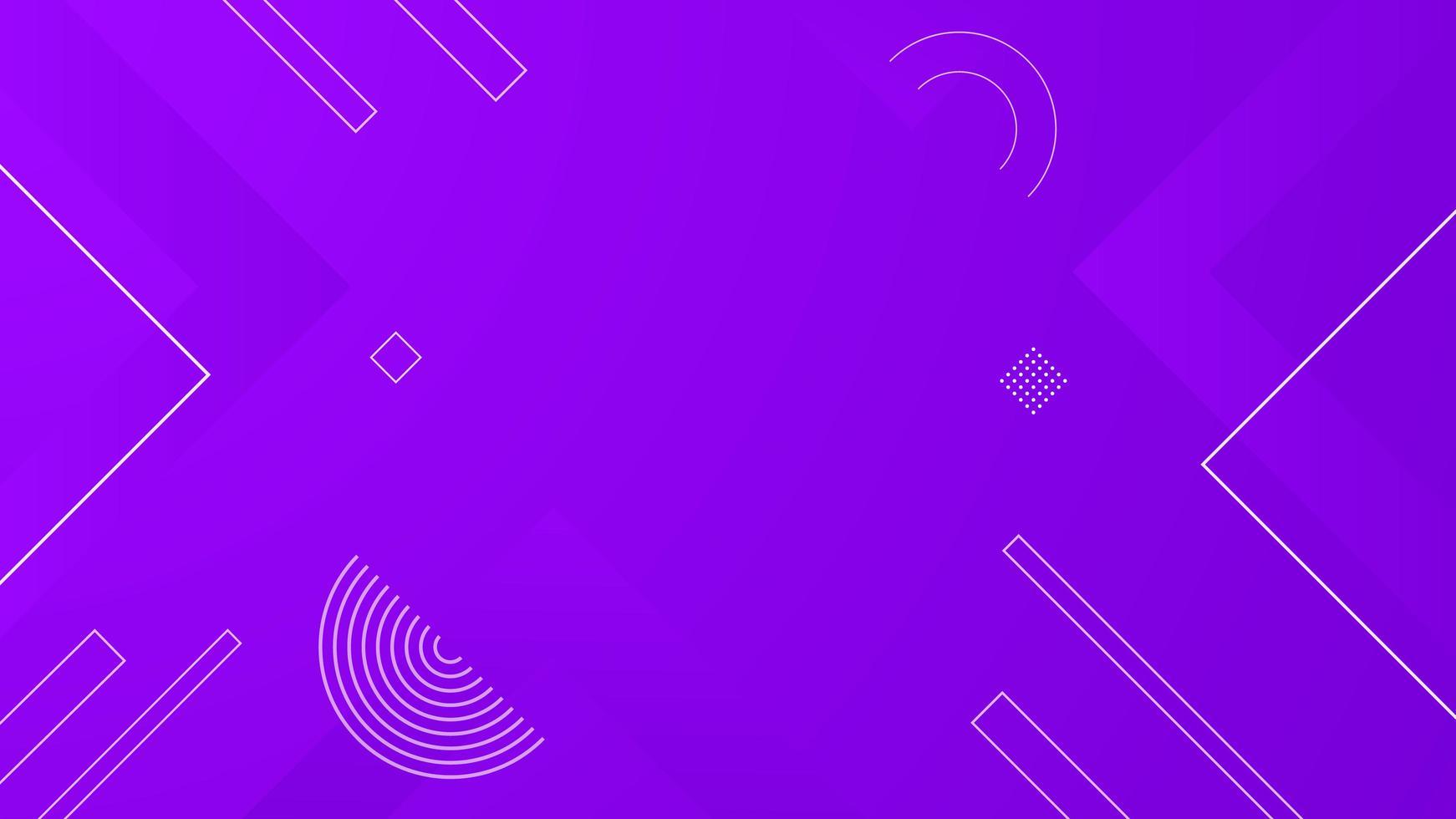 disegno geometrico viola vettore