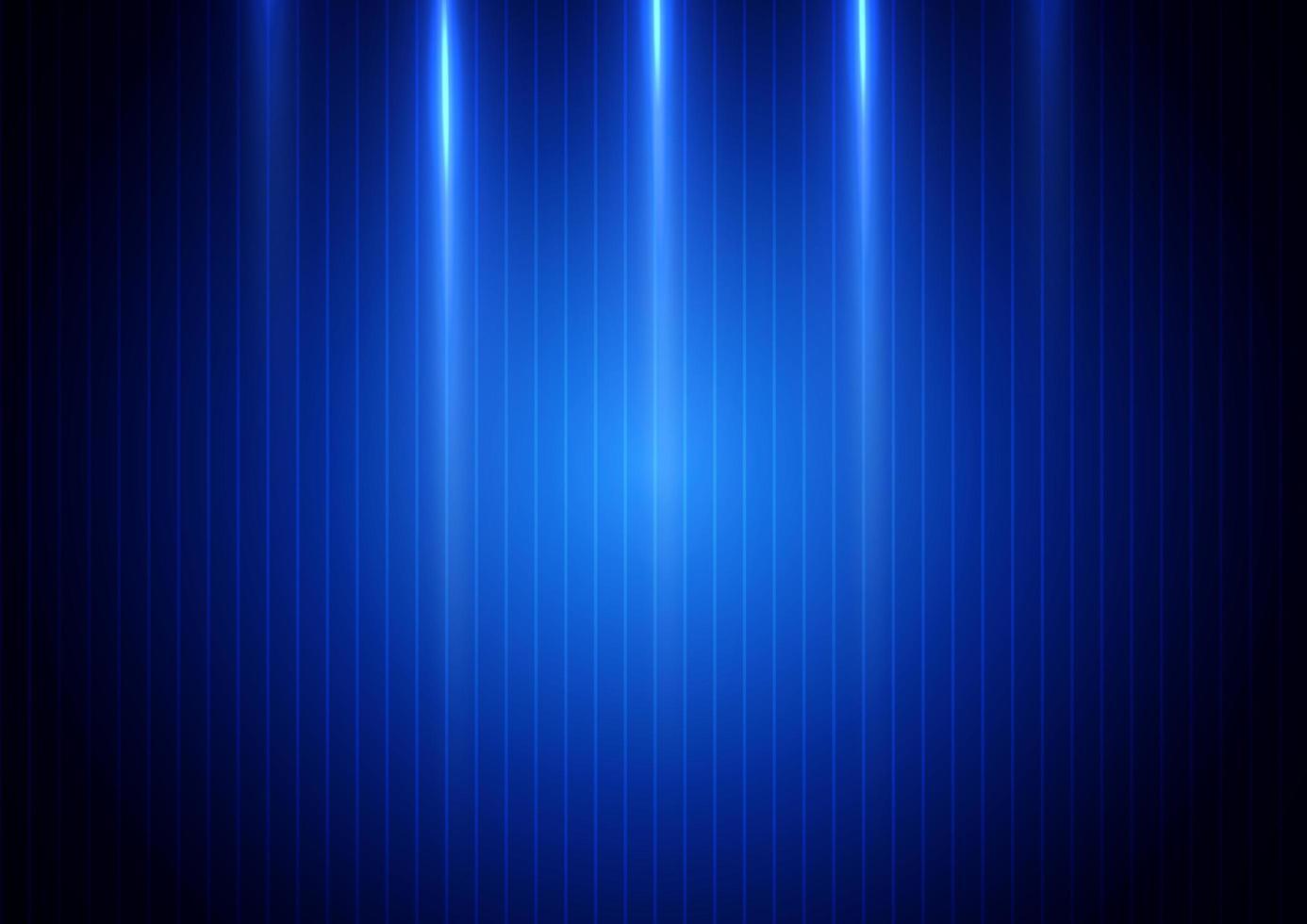 luce verticale blu su sfondo blu vettore