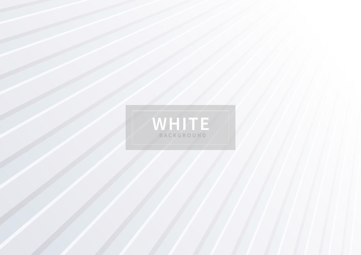 diagonale e forme in prospettiva sfondo bianco vettore