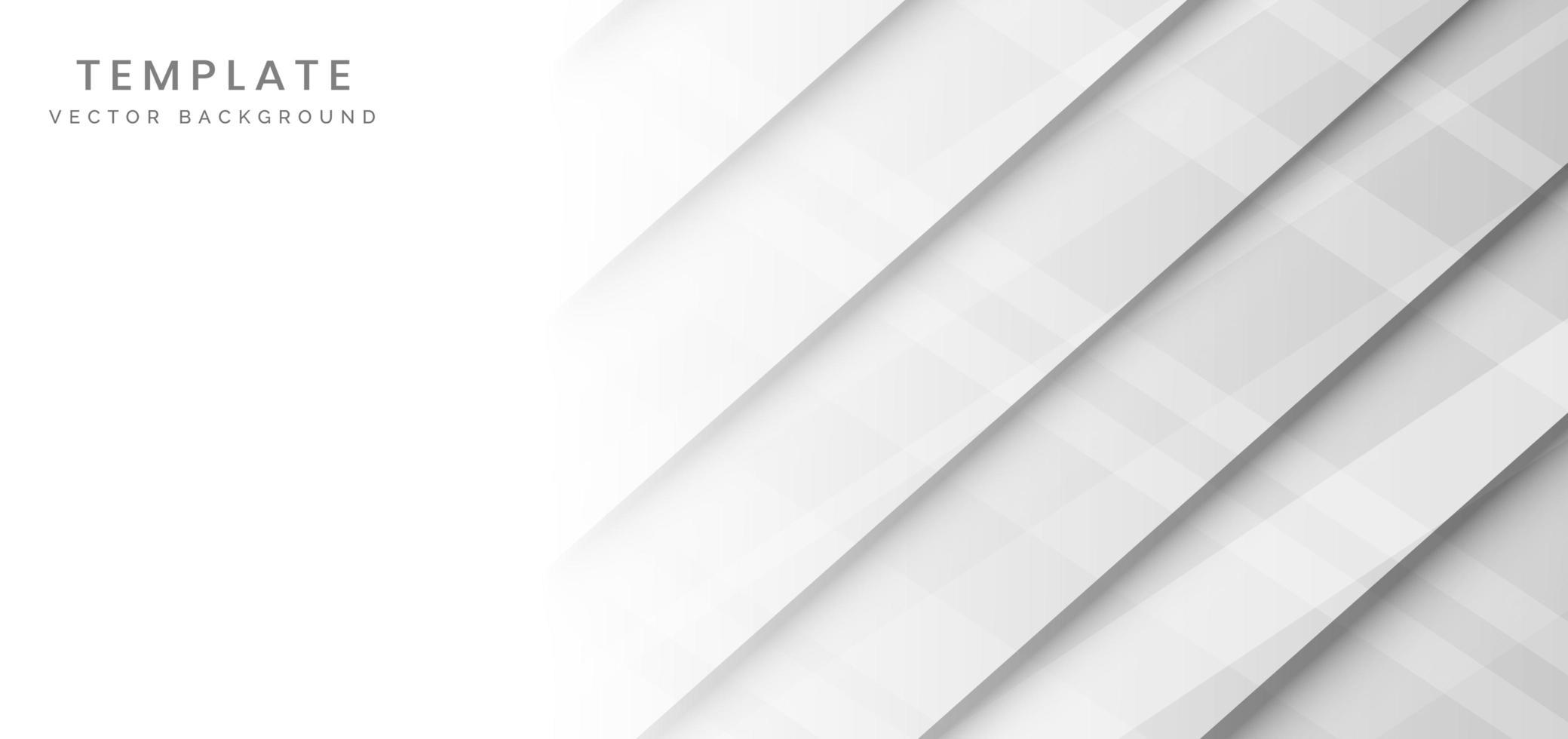modello futuristico astratto bianco della bandiera vettore