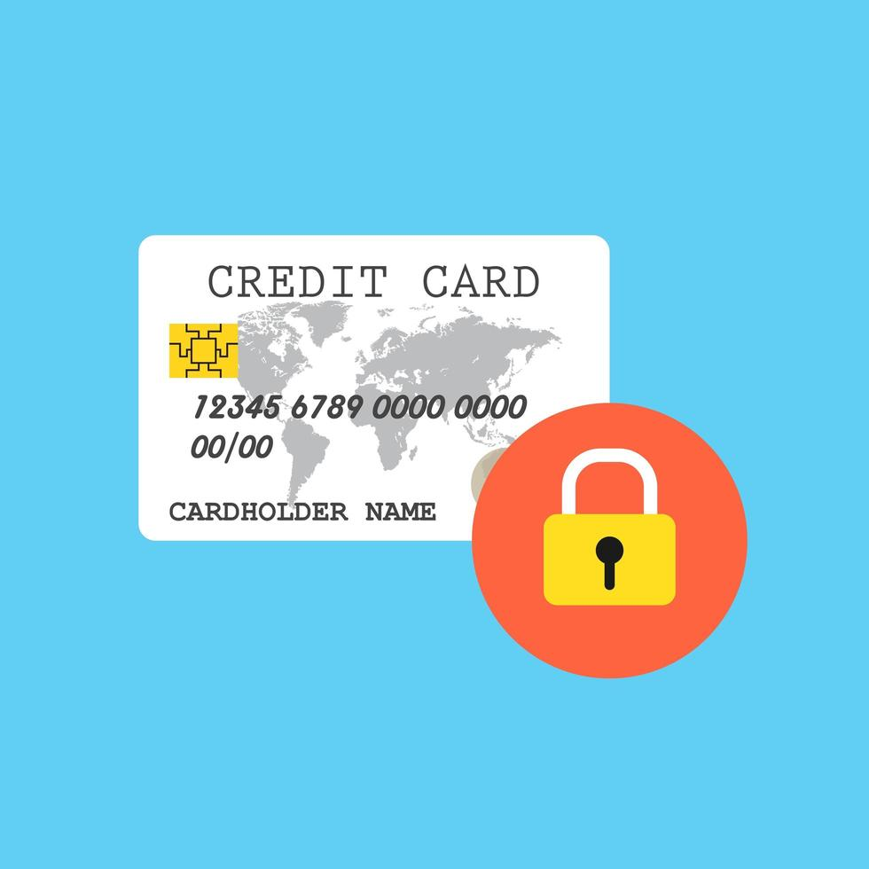 carta di credito protetta vettore