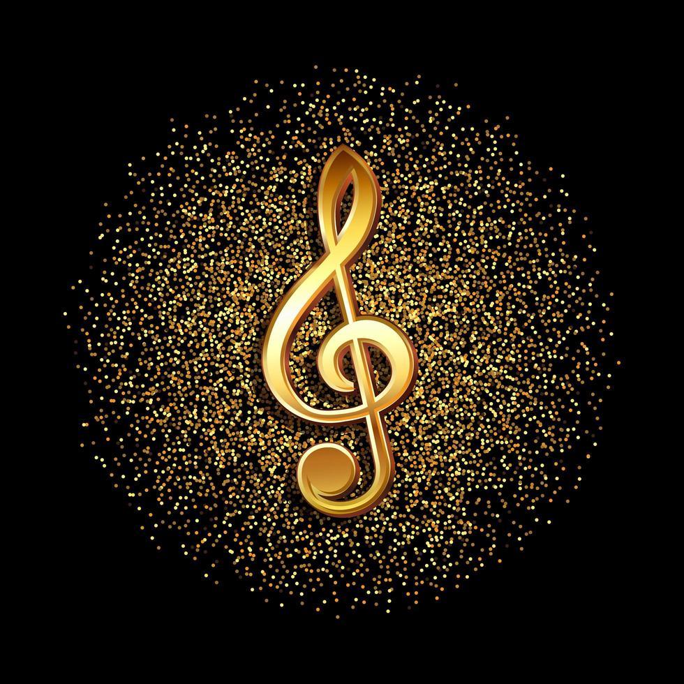 simbolo musicale chiave vettore