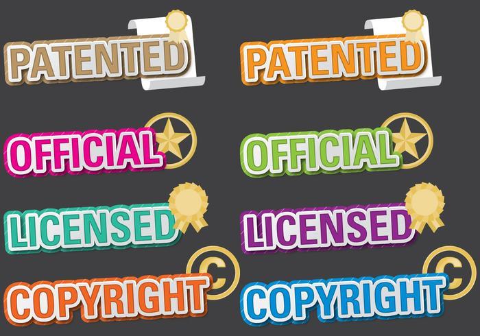Titoli brevettati vettore