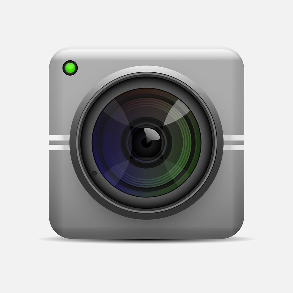 elegante web cam moderna vettore