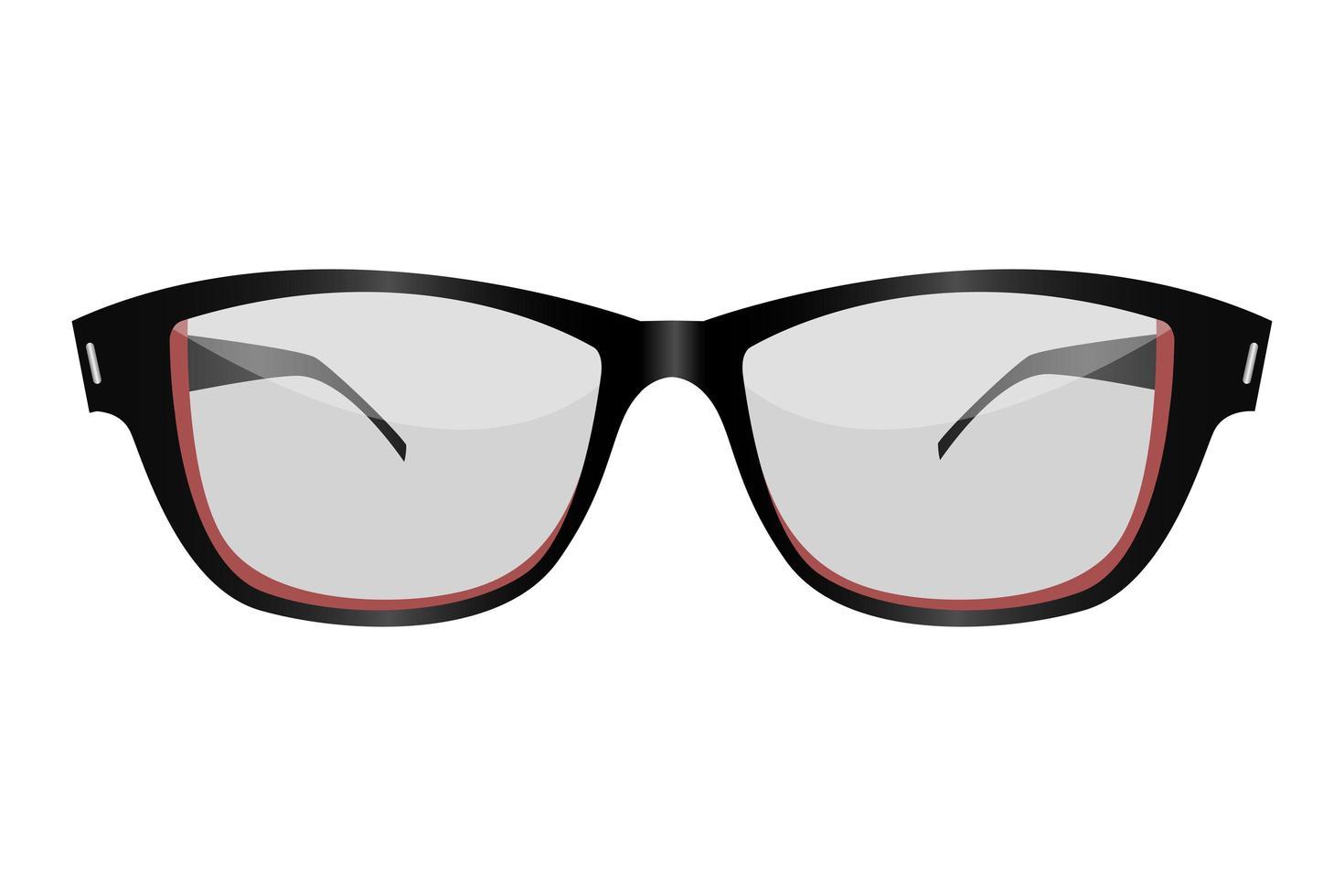bicchieri isolati su sfondo bianco vettore