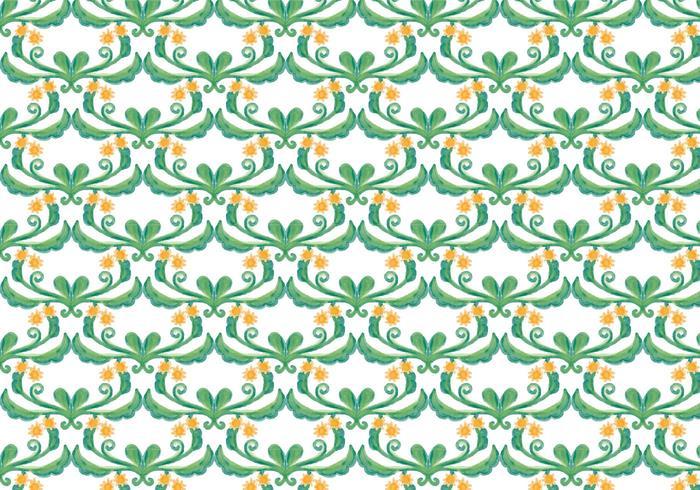 Priorità bassa dell'acquerello di vettore floreale verde