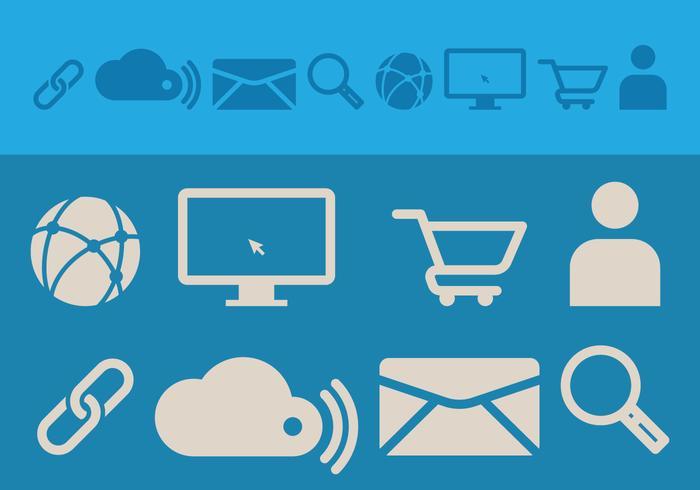Icona di Web design vettore