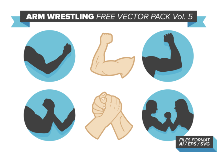 arm wrestling vector pack vol. 5