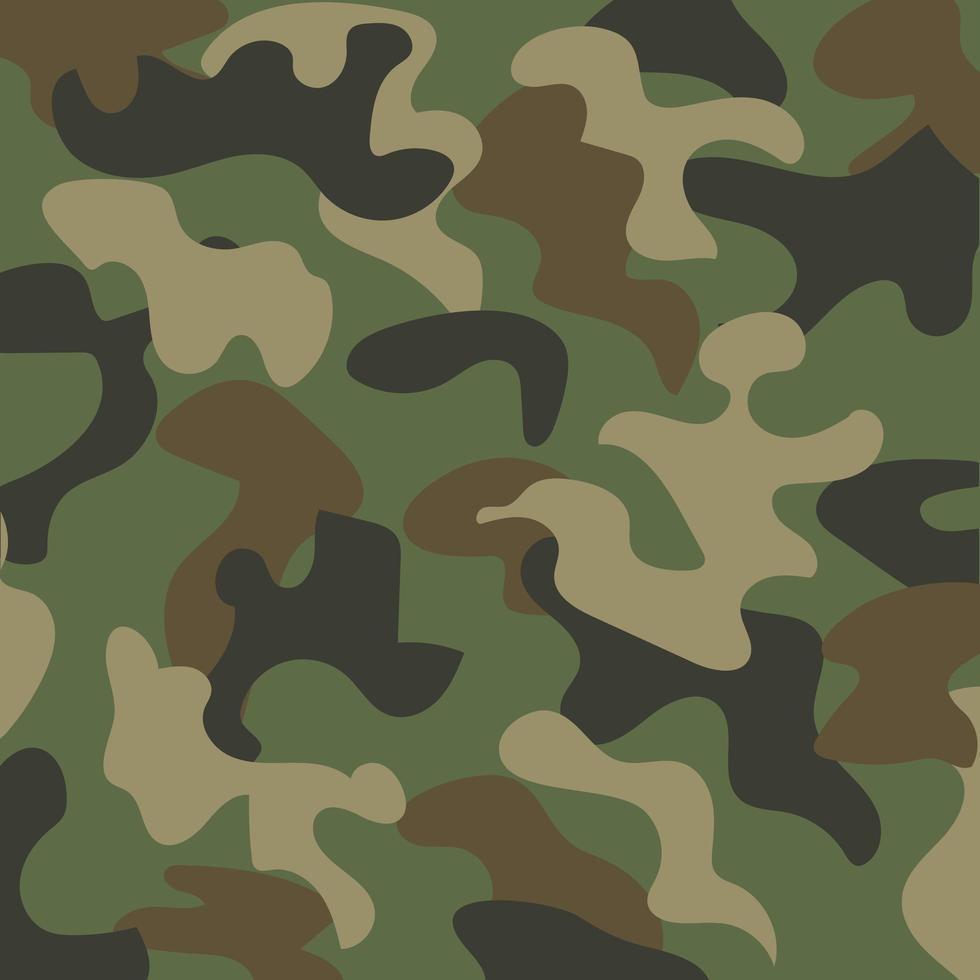 sfondo modello mimetico militare vettore