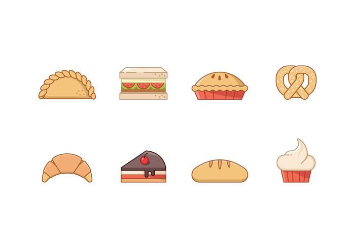 Icone da forno gratis vettore