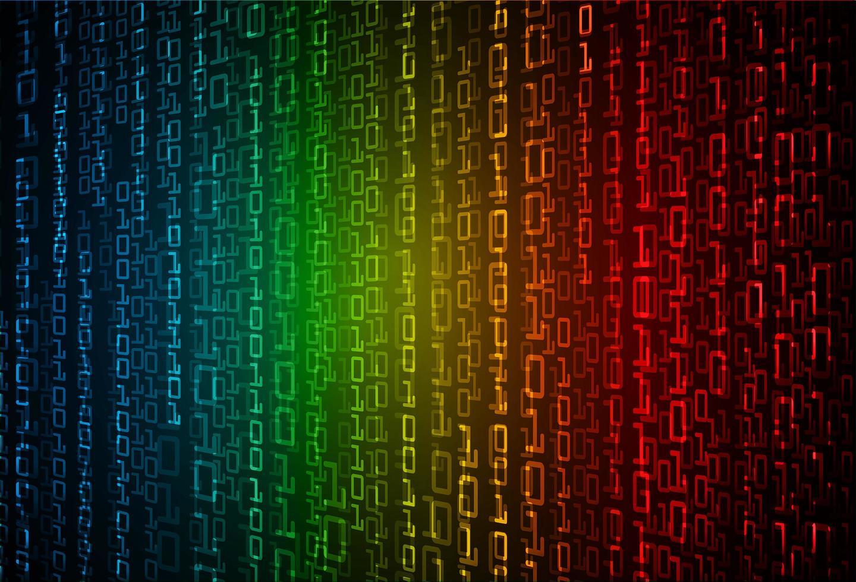 fondo di concetto di tecnologia futura del circuito cyber vettore