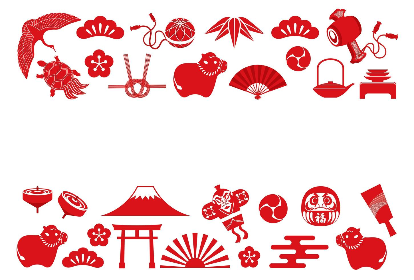 anno dello sfondo icona asiatica di bue vettore