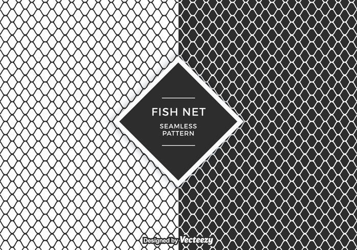 modello di vettore netto di pesce