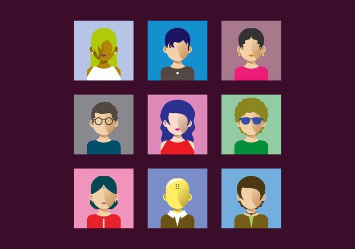 Illustrazione gratuita di vettore di Personas